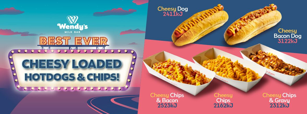 Cheesy Loaded Hot Dogs and Chips