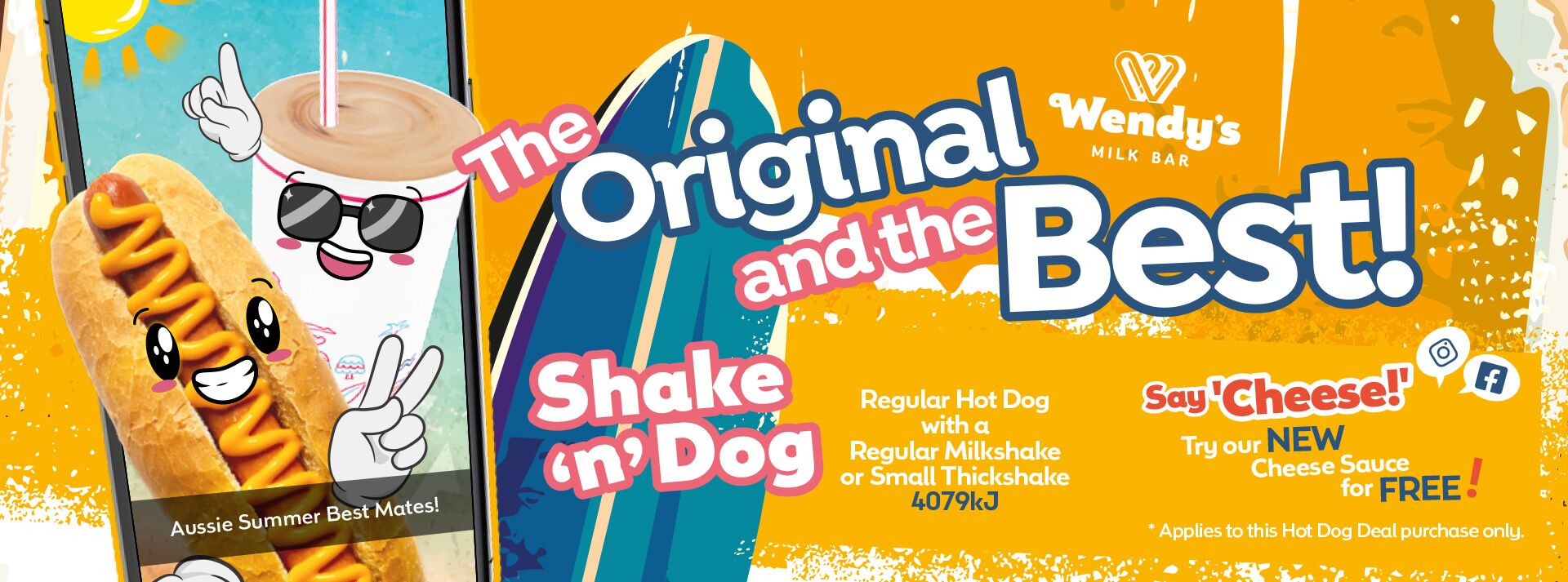The Original and the best! Shake 'n' Dog